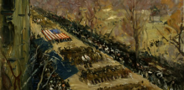 Arthur Clifton Goodwin, Liberty Loan Parade, 1918