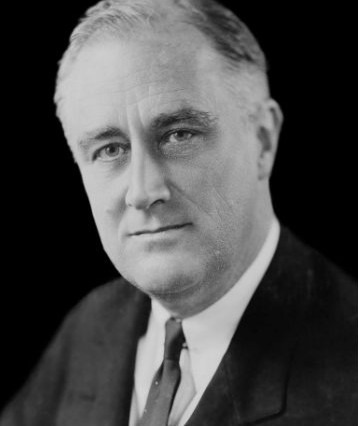 Franklin Delano Roosevelt, 1933, Library of Congress