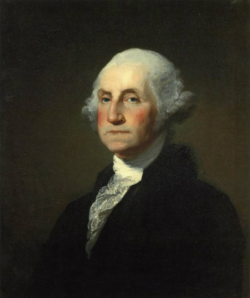 Portrait of George Washington, Gilbert Stuart, 1797