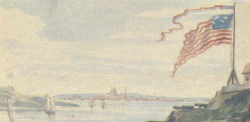 Pavel Svinyin, River Fort, c. 1812