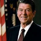 Ronald Reagan, Official White House Portrait, 1981