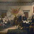 John Trumbull, Signing of the Declaration of Independence, 1819