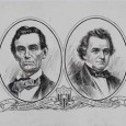 Lincoln and Douglas, Source Chicago Historical Society, c. 1903