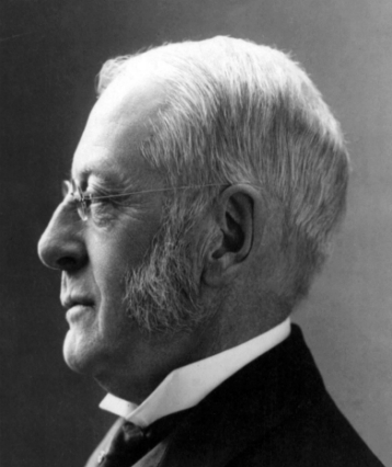 Charles W. Eliot, c. 1904, by E. Chickering and Co. of Boston