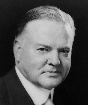 Herbert Hoover, c. 1928, by Underwood & Underwood