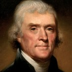 Thomas Jefferson, c. 1800, by Rembrandt Peale